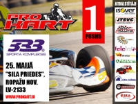 First Pro-Kart stage this weekend (updated)