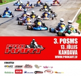 Pro-Kart hold on at Kandava
