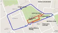 Street track Jelgava