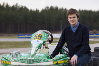 Kart racer Valters Zviedris have good chances in the prestigious CIK-FIA Karting Academy