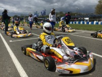 Kart racer Valters Zviedris have spent the first phase of CIK-FIA Karting Academy, France