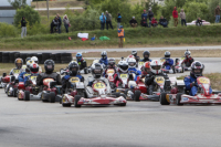 The second Pro-Kart race in Madona