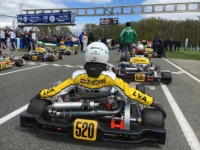 Valters Zviedris is ready for the second start in CIK-FIA Karting Academy in Portugal