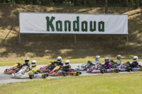 The third Pro-Kart stage at Kandava track