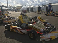 Valters Zviedris concludes last stage of CIK-FIA Karting Academy