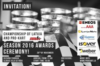On 26th of November, we will meet on the season Awards ceremony