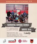 During Kandava Dome cup there will be held the first stage of Latvian Championship in electrokarting class