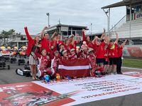 Latvieši noslēguši dalību prestižajās Rotax Max Challange sacensībās Itālijā