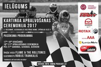 On the 2nd of December - the 2017 season's award ceremony!