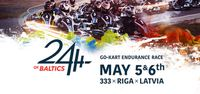 A 24-hour go-kart endurance race will be held for the first time in the Baltic countries