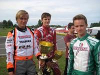 """Jūrmalas kartingists Valters Zviedris izcīna 2. vietu """"Rotax Nordic Challenge"""" Lietuvas posmā un nostiprinās seriāla vadībā"""